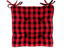 Load image into Gallery viewer, Buffalo Plaid Chair pads