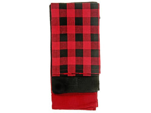 Buffalo Plaid Tea Towel - Set of Three