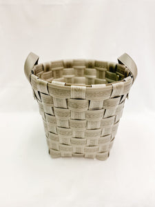 Plastic Weaved Baskets with Handles