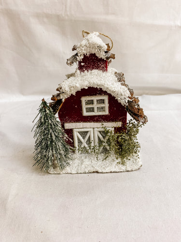 Red Christmas Home Ornaments