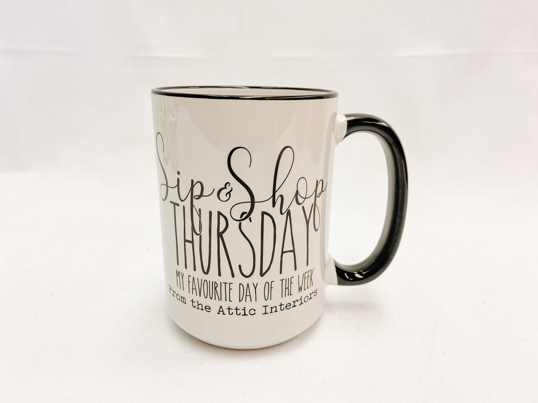 Sip and Shop Thursday - Mug (From the Attic Interiors Exclusive)