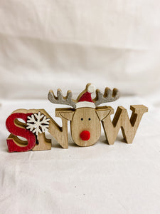 Wooden Xmas Sign