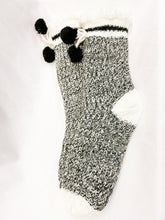 Load image into Gallery viewer, Warm Sock Monkey Slipper Socks