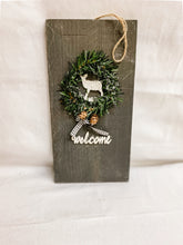 Load image into Gallery viewer, Holiday Welcome Sign