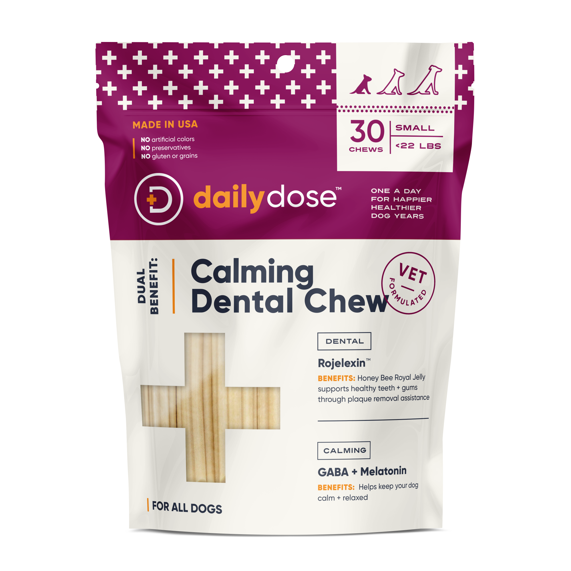Calming + Dental Chew
