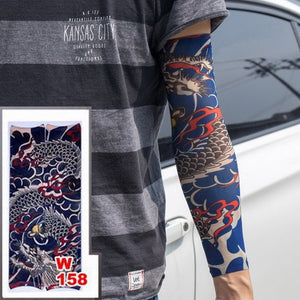 Fake Temporary Tattoo Sleeves