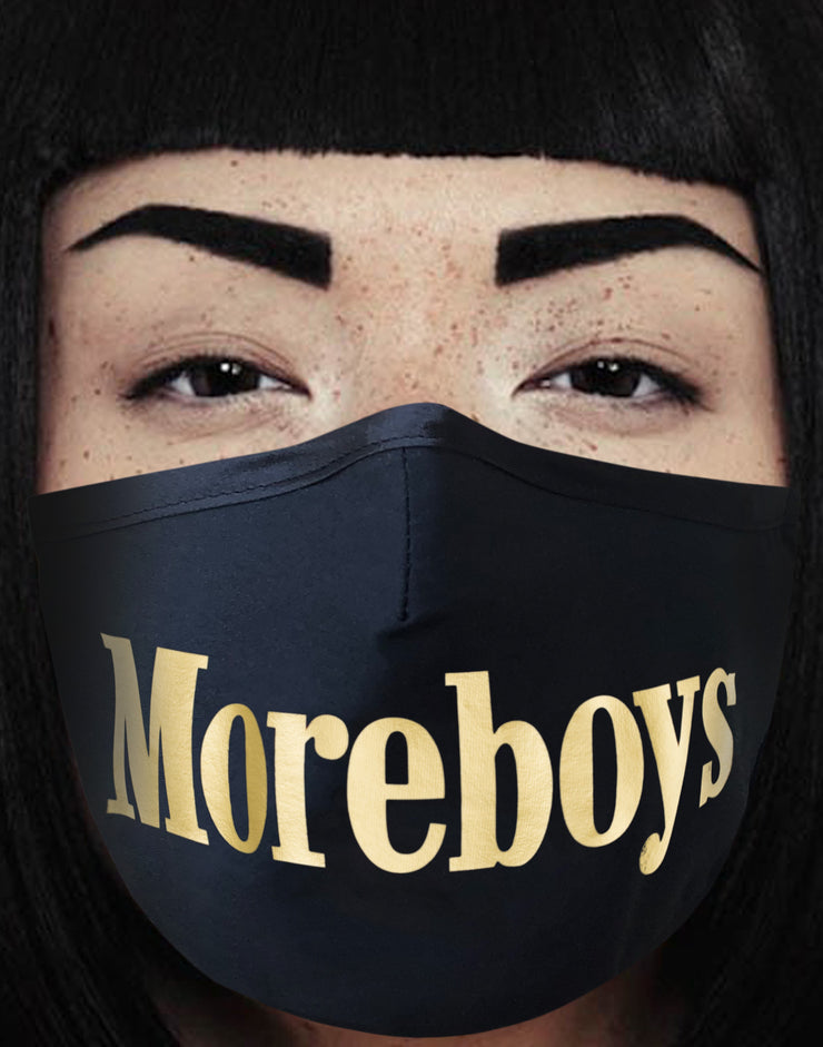 "Face Mask ""Moreboys"" - black"