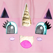 "Hoodie ""Team UC"" - light pink (detail application)"