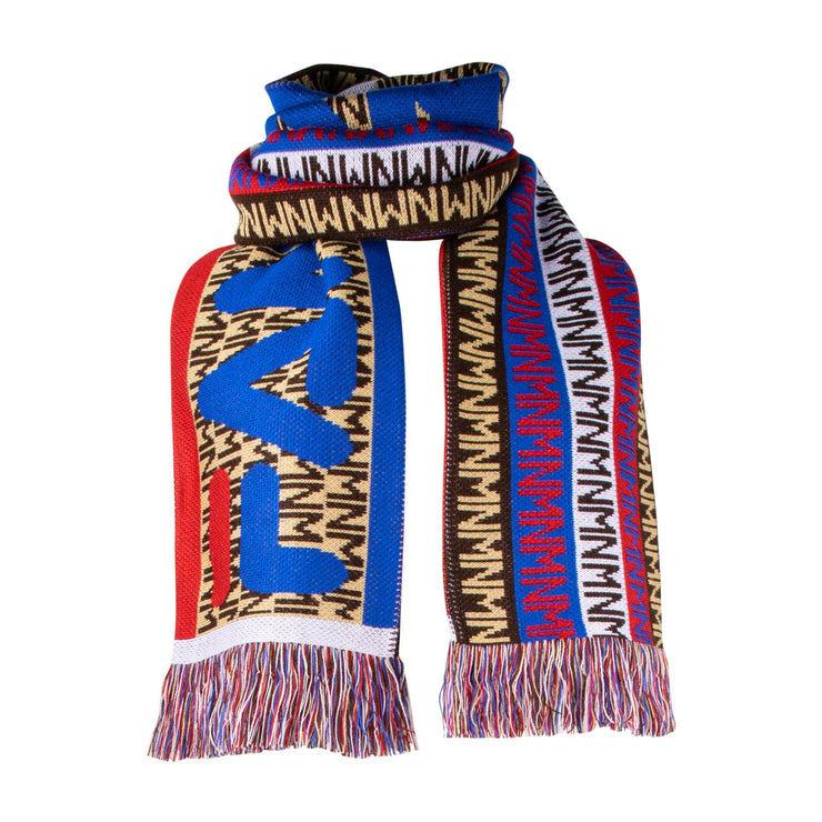 "Scarf ""Fan"" - multicolor (wrapped)"