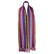 "Scarf ""Fan"" - multicolor (back)"