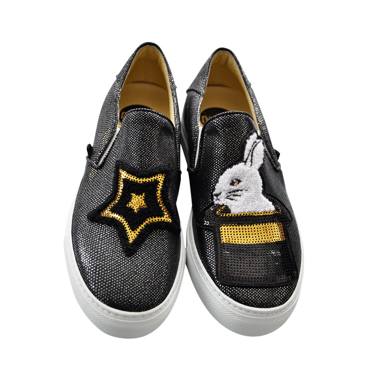 "Slip-on ""Hocus Pocus"" - black"