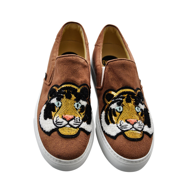 "Slip-on ""Tiger Lilly"" - brown"