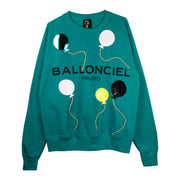 "Sweatshirt ""Ballonciel"" - emerald"