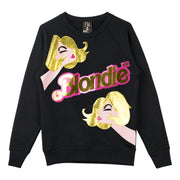 "Sweatshirt ""Blondie Girl"" - black"