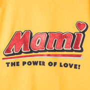 "Sweatshirt ""Mami"" - gold (detail application)"
