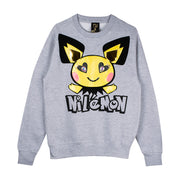 "Sweatshirt ""Nilémon"" - grey melange"
