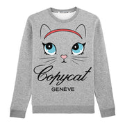 "Sweatshirt ""TZ Copycat"" - heather grey"
