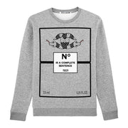 "Sweatshirt ""TZ Snakes"" - heather grey"