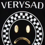 "Sweatshirt ""Very Sad"" - black (detail application)"