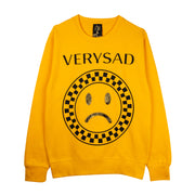 "Sweatshirt ""Very Sad"" - yellow"