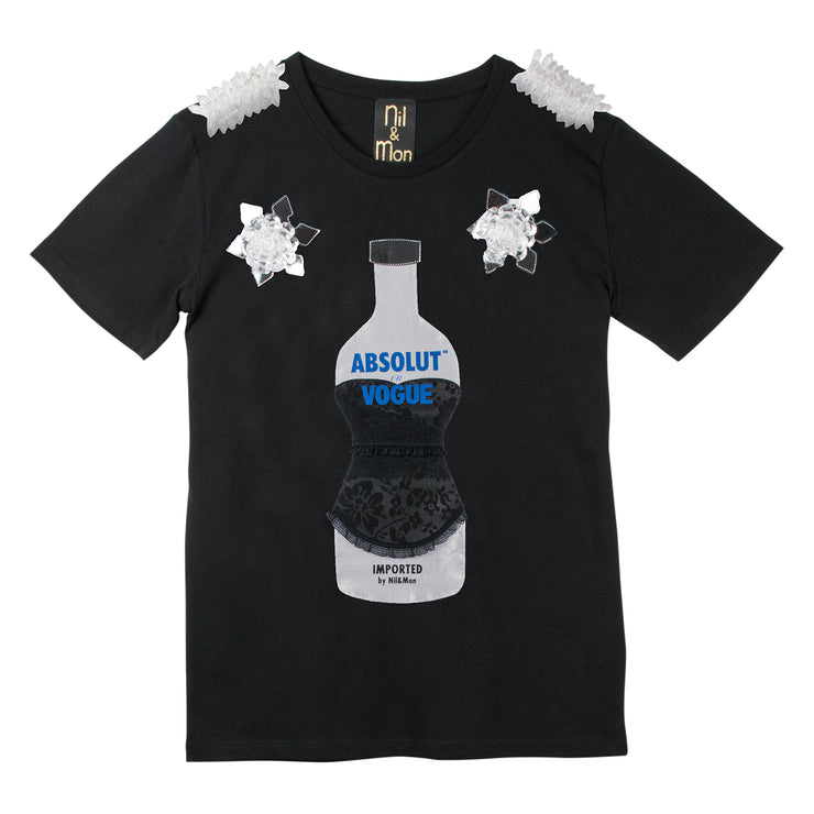 "T-Shirt ""Absolut Vogue"" - black"