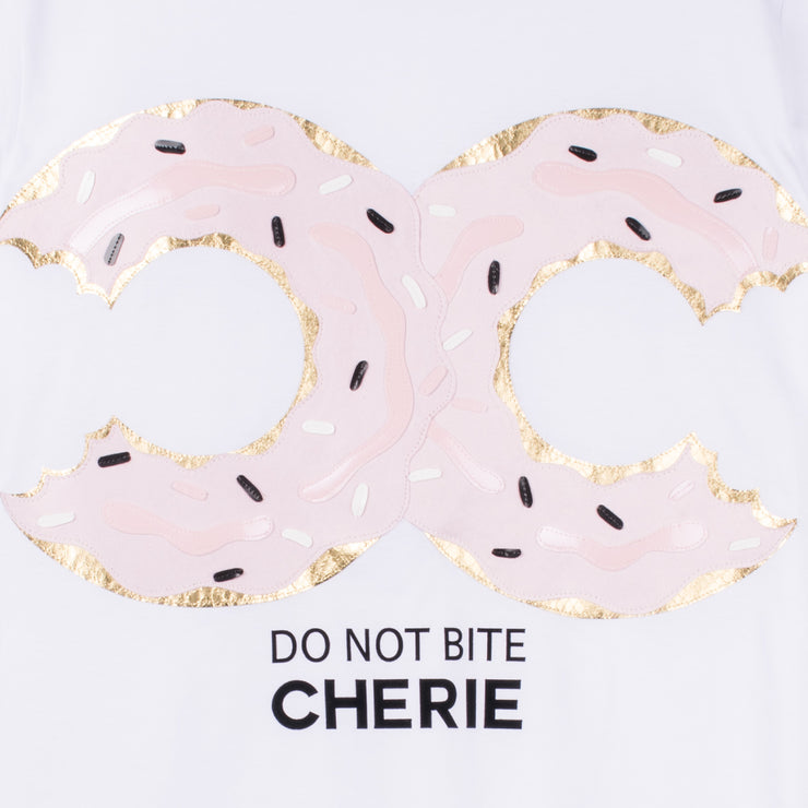 "T-Shirt ""Don't Bite"" - white"