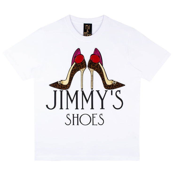 "T-Shirt ""Jimmy's"" - white"