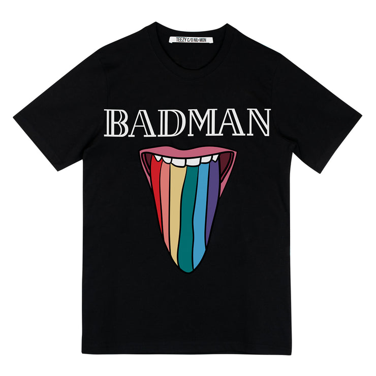 "T-Shirt ""TZ Badman"" - black"
