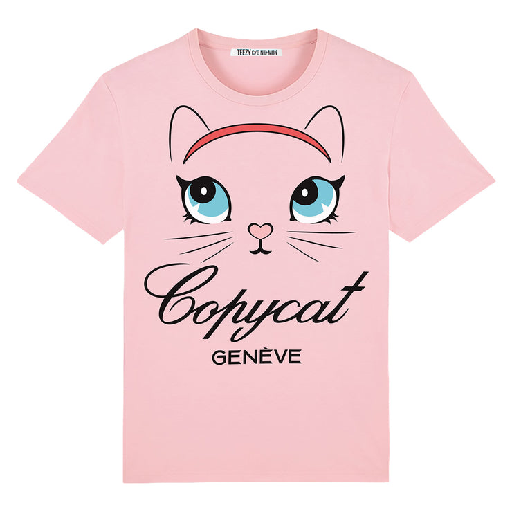 "T-Shirt ""TZ Copycat"" - light pink"