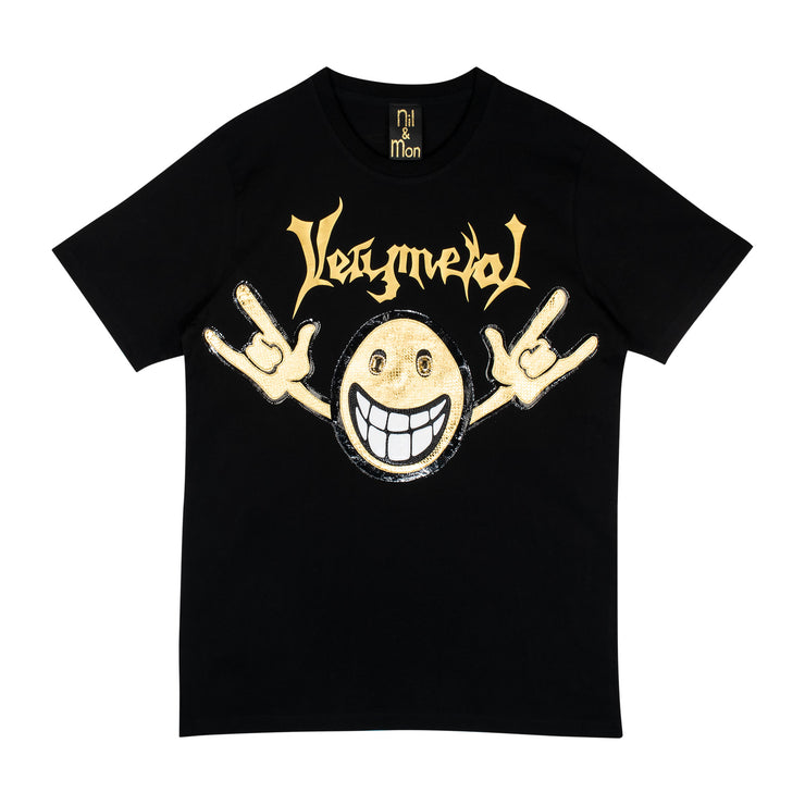 "T-Shirt ""Very Metal"" - black"