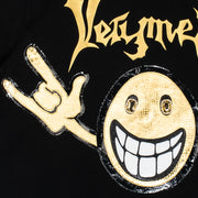 "T-Shirt ""Very Metal"" - black (detail)"