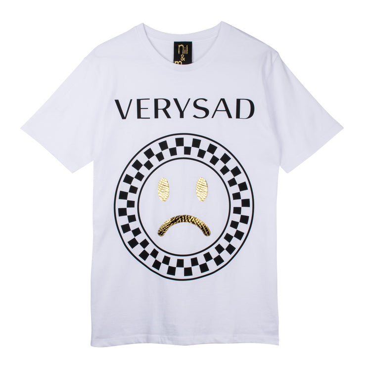 "T-Shirt ""Very Sad"" - white"