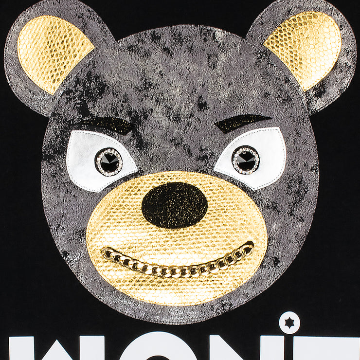 "T-Shirt ""Won't Blame"" - black (detail)"