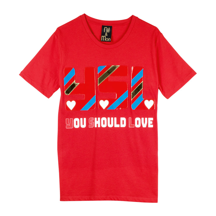 "T-Shirt ""You Should Love"""