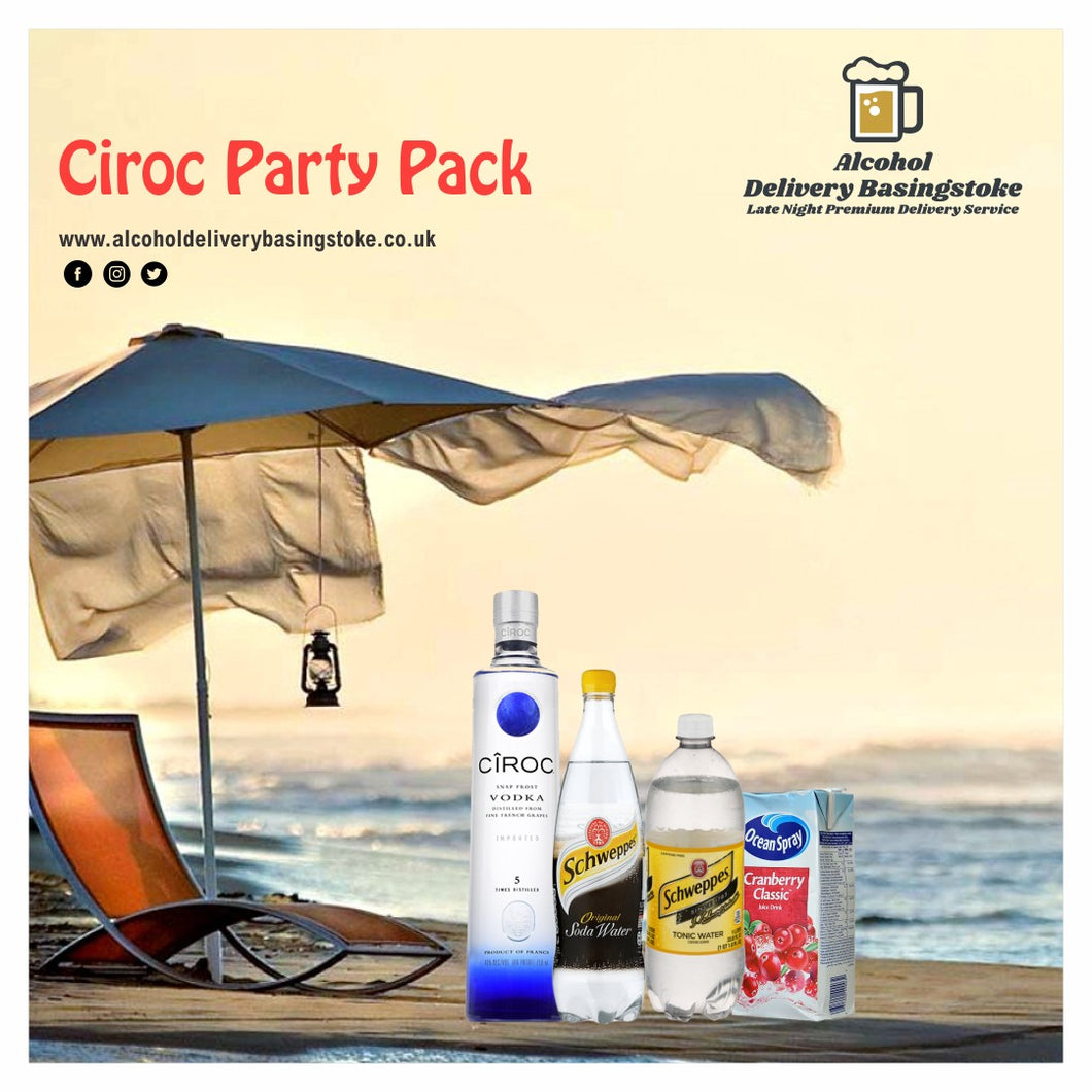 Ciroc Party Pack