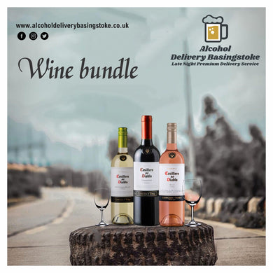 Wine bundle - Any 3 wines (Red, Rose and White)