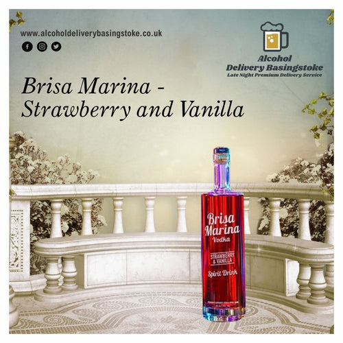 Brisa Marina - Strawberry and Vanilla 70cl Vodka
