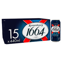 Load image into Gallery viewer, Kronenbourg 1664 Beer 15 X 440ml