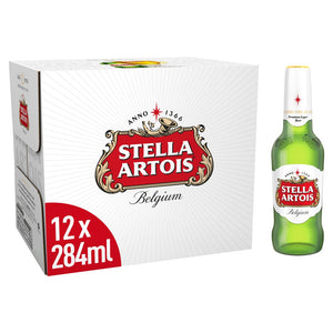 Stella Artois x 20 bottles 284ml