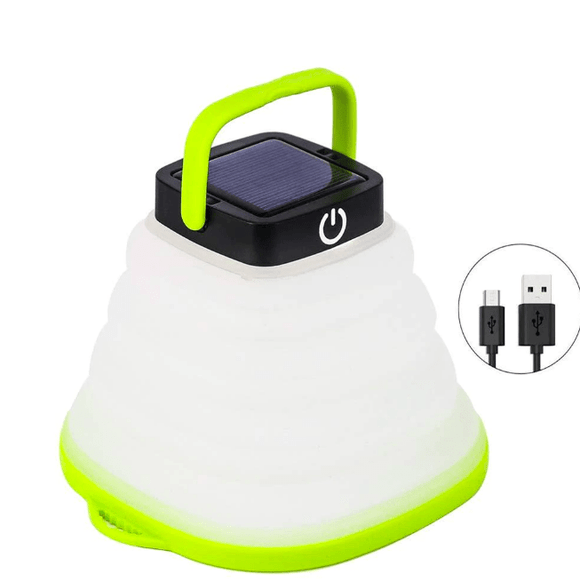 Solar Powered Camping LED Lantern