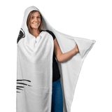 Daddy Shark - Hooded Blanket