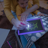 Magic illuminate Educational Drawing Board for Kids Paint Lighting Toy