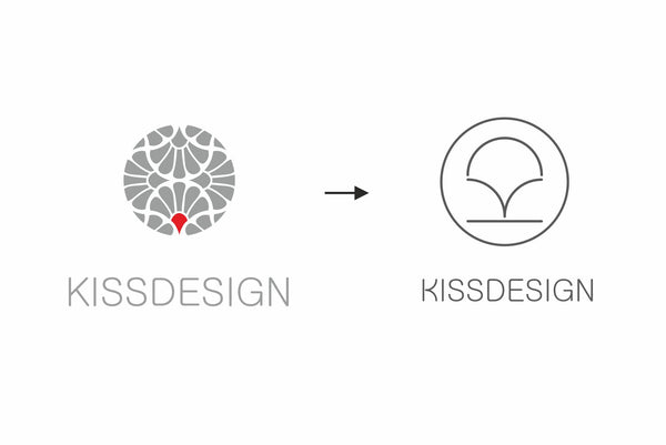 kissdesign logo relaunch