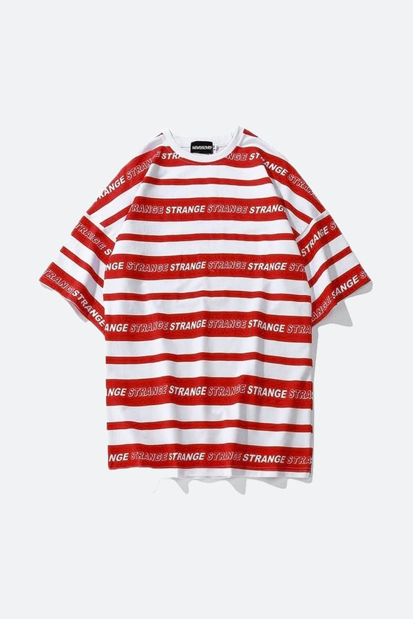 Two Tone Stripe T-Shirt