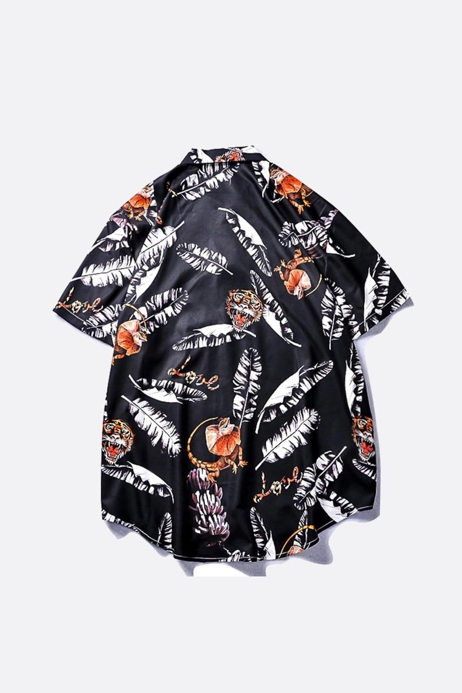 Vibrant Tiger Hawaiian Shirt