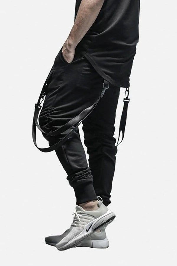 Belt Strapped Joggers