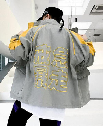 Foreign Embroidery Bomber