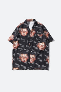 Face Hawaiian Shirt
