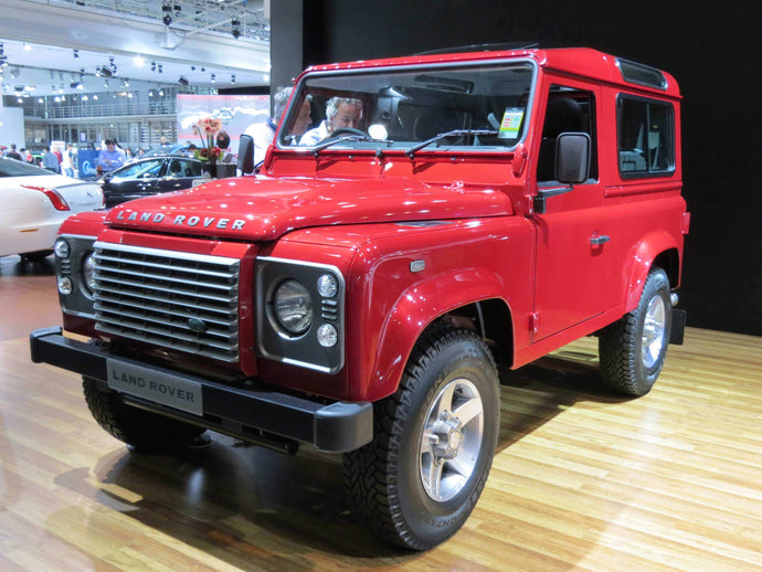 Land Rover prototypes