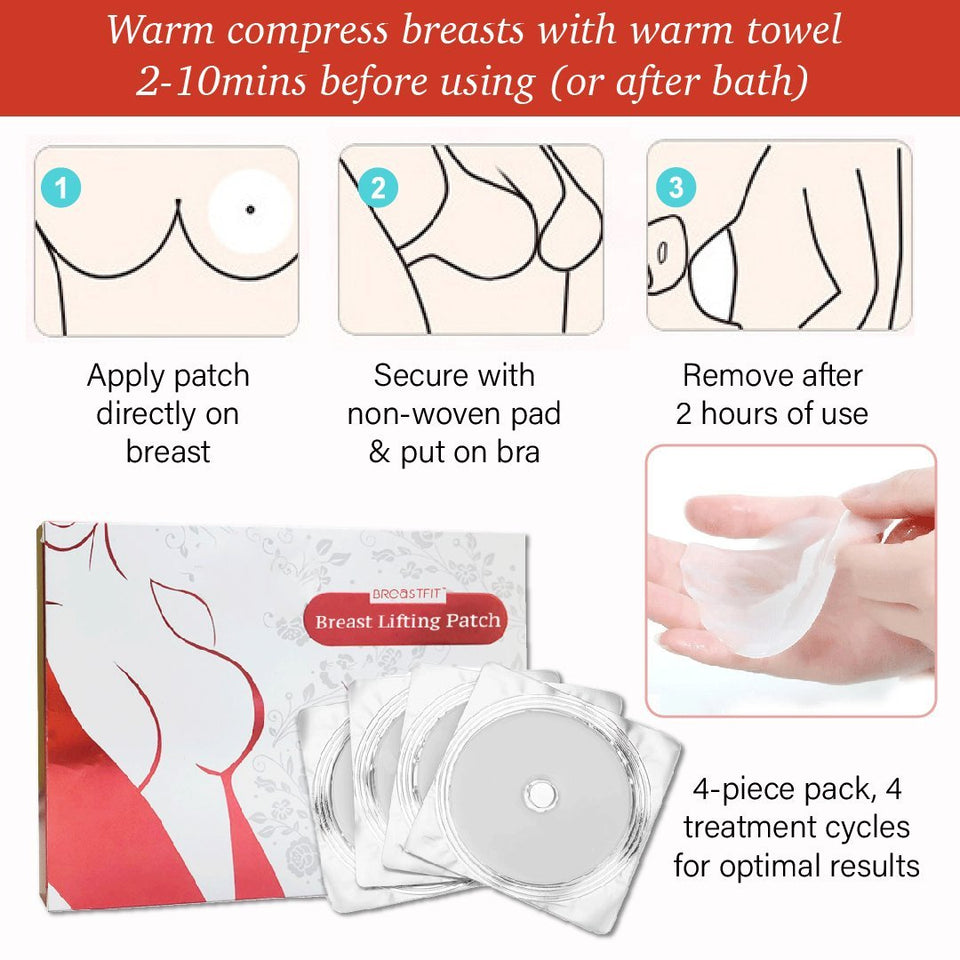 PRO Sagging Upright Breasts Lifting Patch (4pcs)
